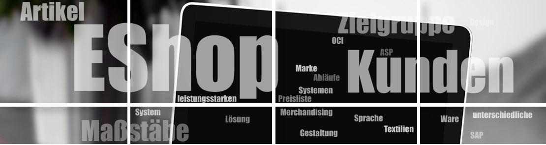 e-Shop Anbindung für firmeneigene Werbeartikelanforderungen